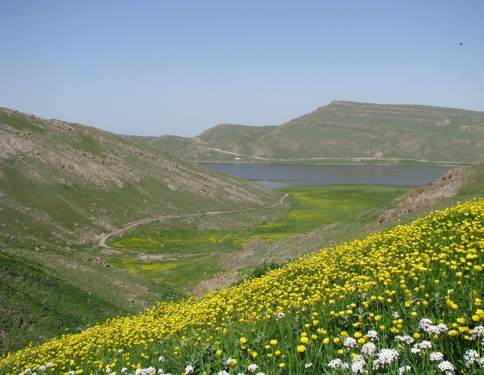 نئور بزرگ ترین دریاچه طبیعی و آب شیرین اردبیل